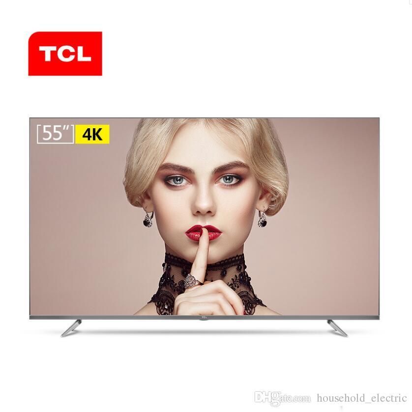TCL D55A730U LCD da 55 pollici ultra-sottile a 64 bit ad alta definizione HDR a schermo piatto LCD intelligente Televisori da 55 pollici