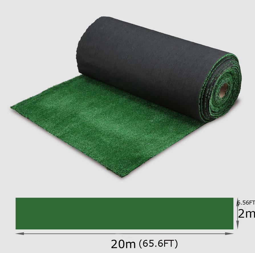Nouveau Micro Paysage Décoration Fée Jardin Simulation Plantes Faux artificielle Mousse Pelouse décorative gazon herbe verte 1.5cm (2 * 20)