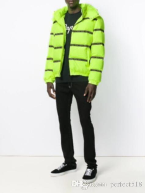 2019 Melhor designer de moda de roupas homens de luxo retalhos Todas as letras joint-alta qualidade tamanho jaqueta de tendência de moda M-3XL dos homens jaqueta