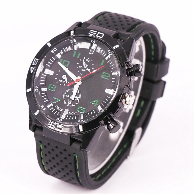 GT Men Wrist Watches Fashion Sports Quartz Retro Wristwatches Luxury Designer Silicone Watch Casual Men Business Stitching Watches Gift Best