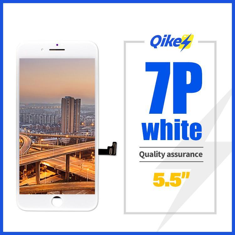 aaa original OEM Pantalla LCD mejor calidad para el iPhone 7plus 7P wihte + Pantalla LCD reemplazo de pantalla táctil digitalizador Asamblea