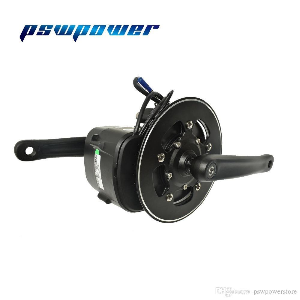Europe ou stock Chine 48V 500W ou 750W 42T VLCD5 TSDZ2 bicyclette mi moteur électrique avec capteur de couple accélérateur levier e-frein