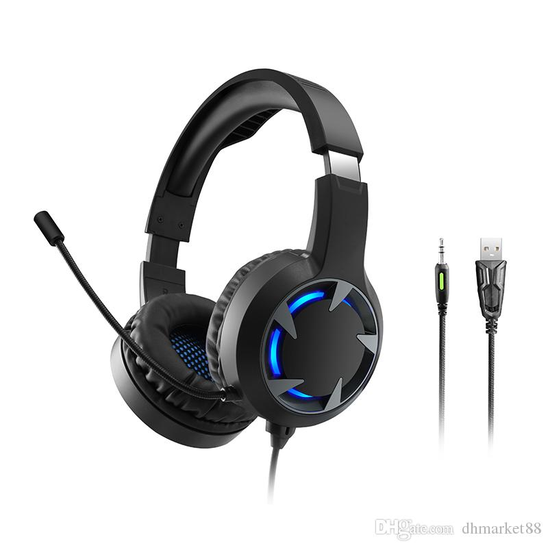 New Computer Headset Ps4 Sports Gaming Headset Wired Lighting Subwoofer Wire Headphones New Product Wireless Bluetooth Headphones Wireless Headset From Dhmarket88 22 74 Dhgate Com