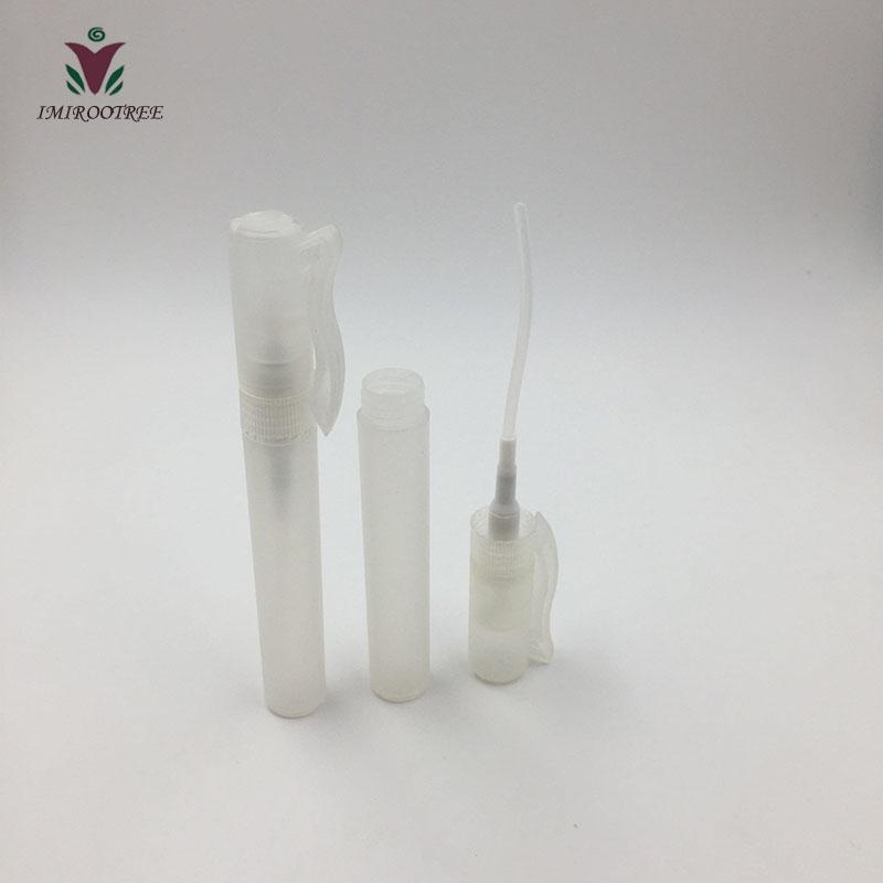 2019 new & hot 100pcs/lot 8ml Empty Plastic Pen Perfume Hand Sanitizer Spray Bottle