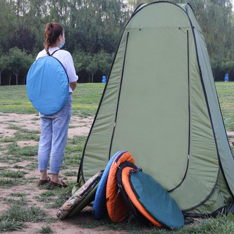 Outdoor Portable Shower Bath Changing Fitting Room Camping Pop-Up Tent Dressing Shelter Beach Privacy Toilet Tent with Bag