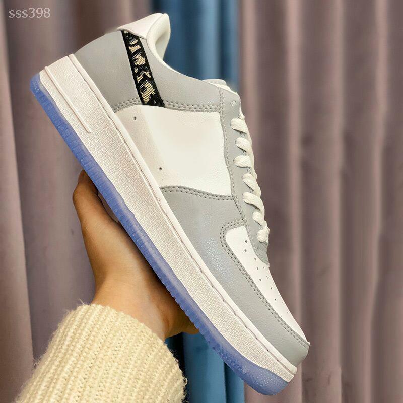 Chegada Nova Moda Homens Mulheres Casual Shoes clássico confortável Sneakers Hot Venda Andar de couro genuíno sapatos de passeio leves Sapatos casuais