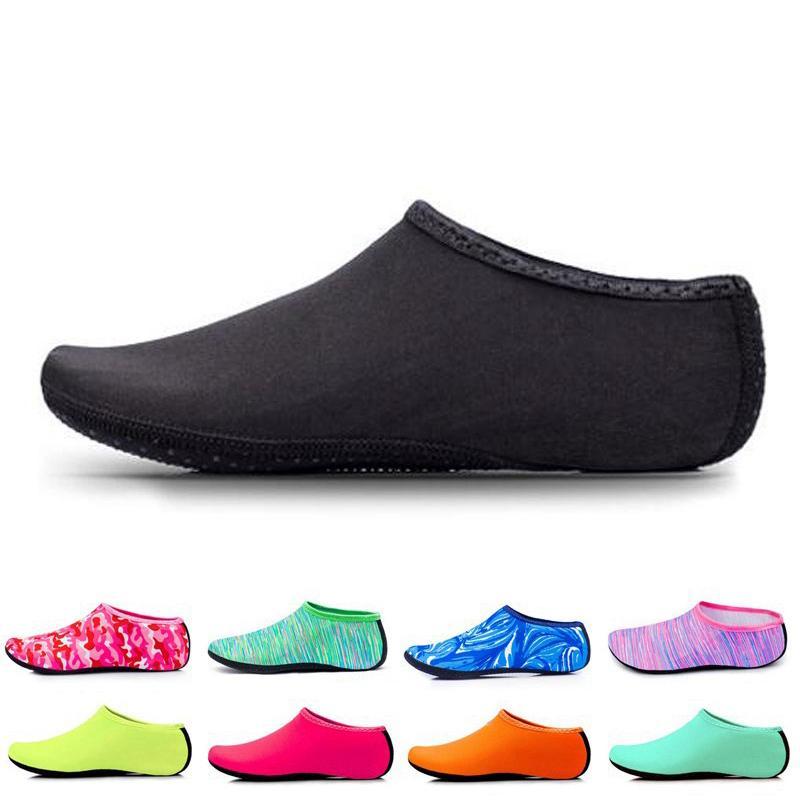 Nova da Praia Natação Water Sport Socks Anti Slip Shoes Yoga Academia de Dança Swim Surfing Mergulho Submarino sapatas para miúdos das mulheres dos homens