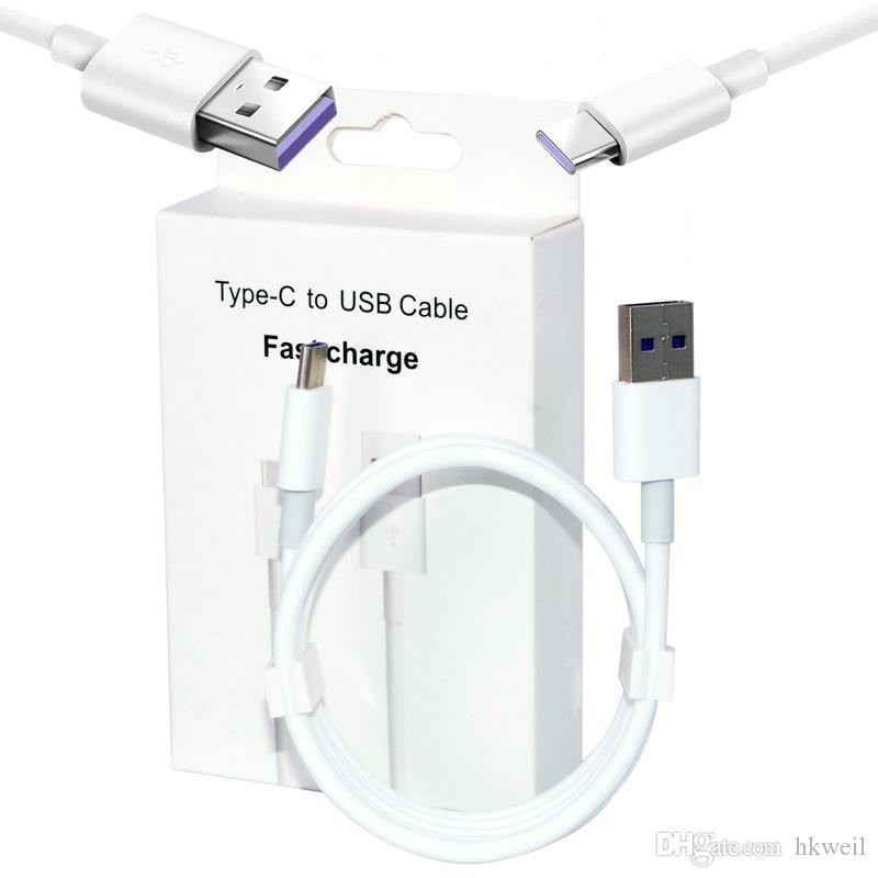 PD Tipo c digitar-c cabo Micro USB Charger 2A 3A Tipo-C Cabos Linha de dados de carregamento para Samsung S10 Nota 10 Huawei Xiaomi