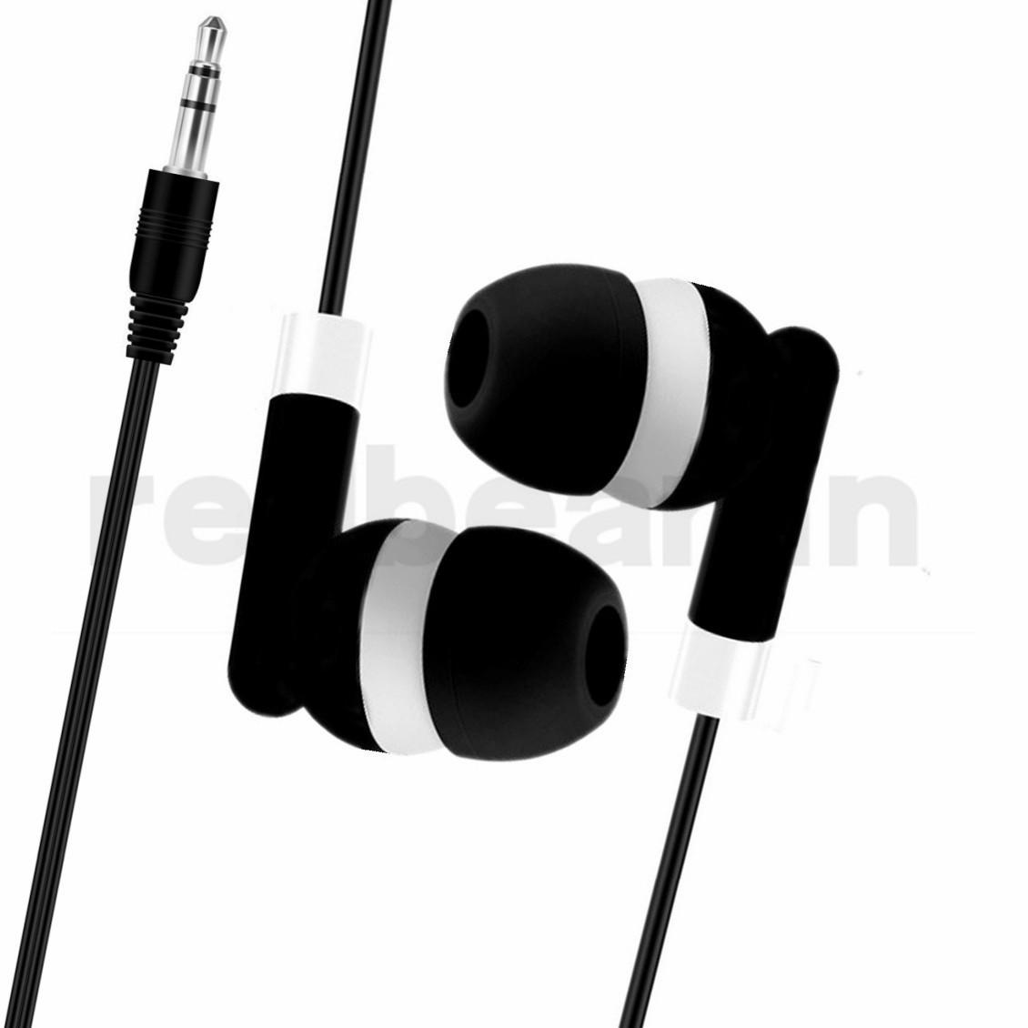 fones de ouvido descartáveis fone ouvido de 3,5 mm jack fones de ouvido fone de ouvido universais para samsung iphone mp3 mp4 tablet android telefone