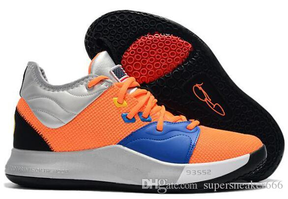 1fa0bb9992d 2019 2019 New Paul George PG 3 3S PALMDALE III P.GEORGE Basketball Shoes  Cheap PG3 Starry Blue Orange Red Black Sports Sneakers Size 40 46 14 From  ...