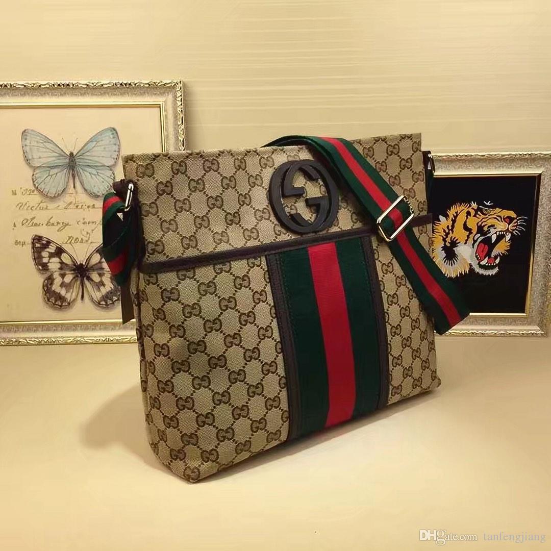 Top fashion outdoor travel to work borsa uomo postino uomo messenger orizzontale in pelle premium size34 * 30 * 11cm