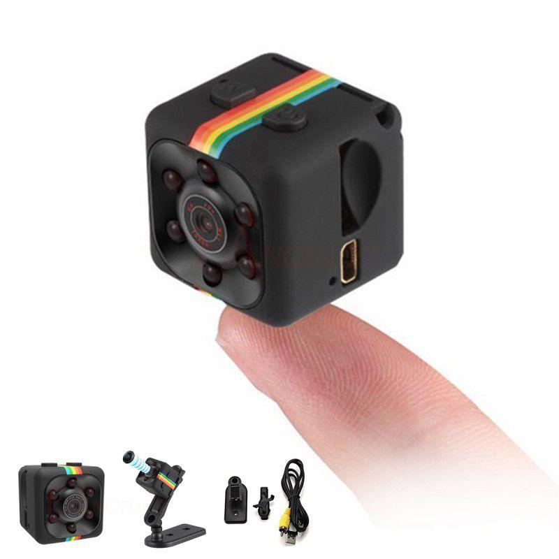 SQ11 mini sensor de câmera noite visão camcorder movimento dvr largamente ângulo micro câmera esporte dv vídeo
