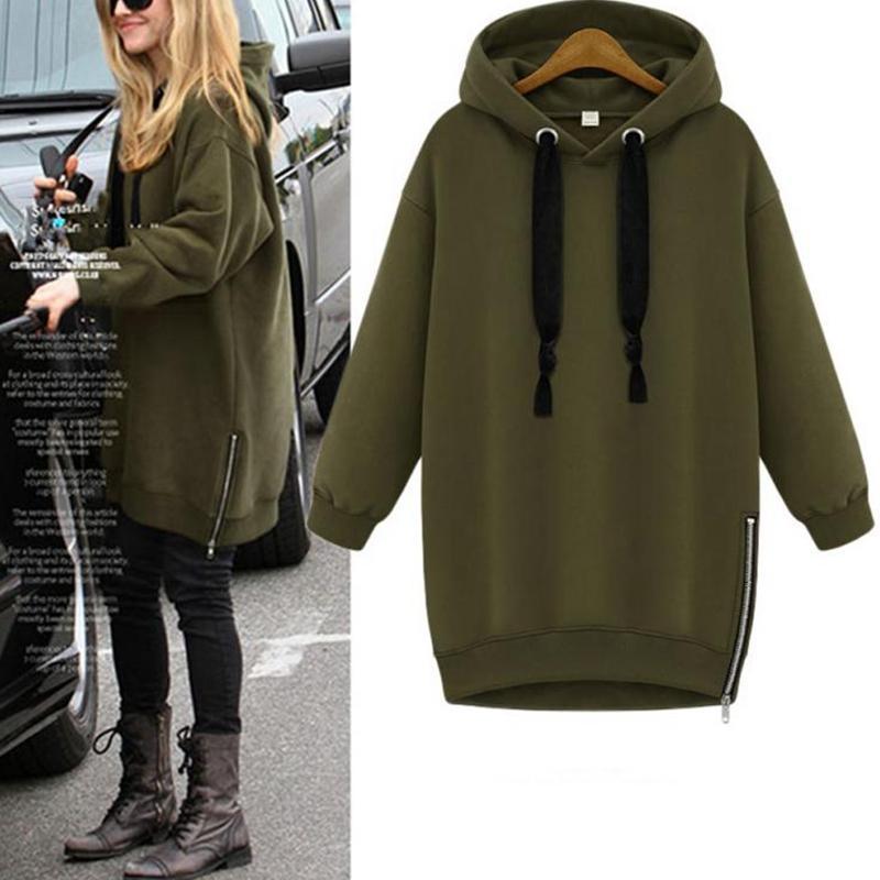 sweatshirt femme long