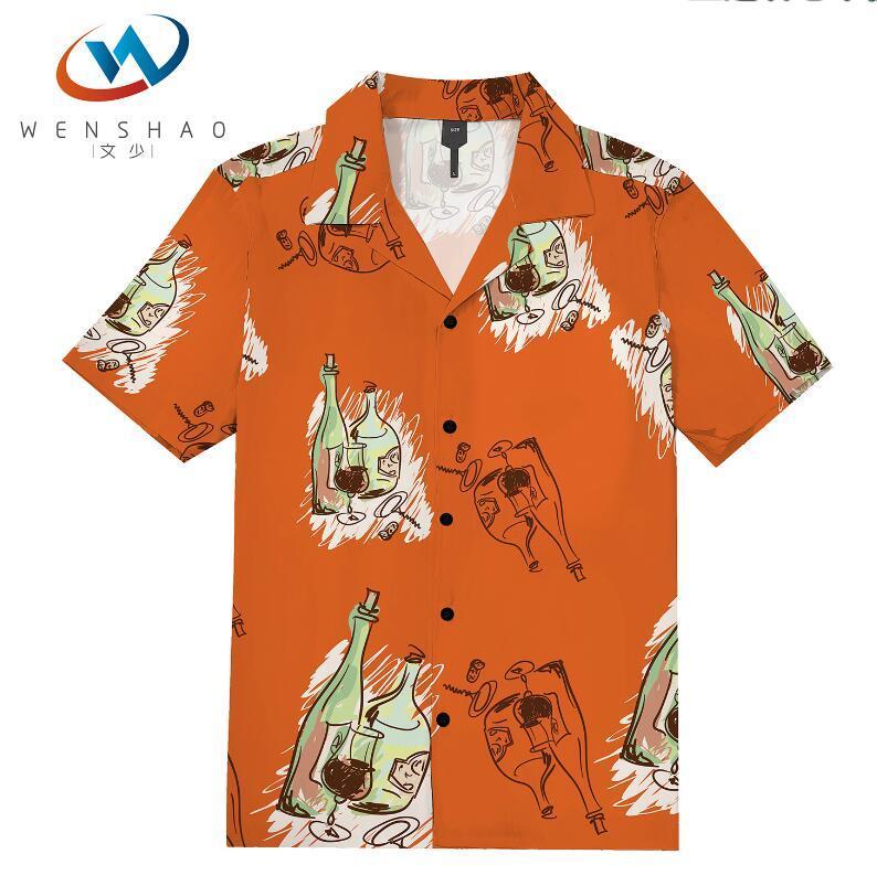 = 2020 ilkbahar yaz marka etiketi elbise erkekler Polo tişört yaka yaka kumaş mektup eğlence erkekler tişörtler ParisJJ7 Marka adı