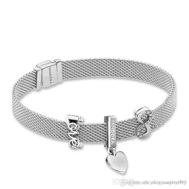 pandora bracelet reflexion argent
