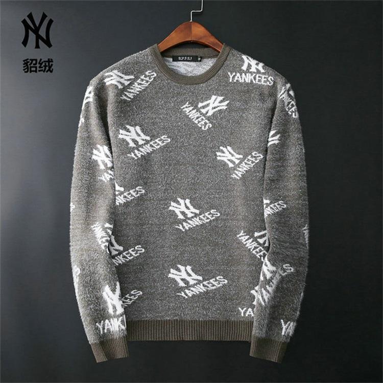 designer de marca de manga longa pulôver camisola Men carta bordados malhas de inverno nova moda masculina designer de 01