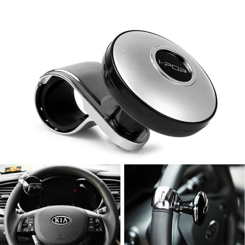 Cheap Wheels & Steering Wheel Hubs Car Steering Wheel Spinner Knob Power Handle Ball Hand Control Ball Car Grip Knob Turning