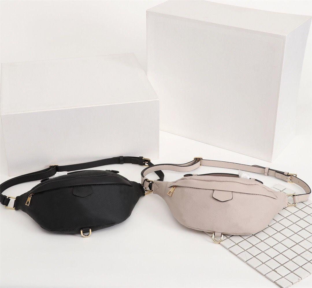 Original Monogramme Designer Luxus-Handtaschen Portemonnaie Gürteltasche Brusttasche Marke Blumen-Kreuz-Körper-Taillen-Beutel-echten Leder-Schultertasche