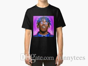 Camisa púrpura de Lil Vert T unisex Lil Uzi Vert álbum camiseta del golpeador