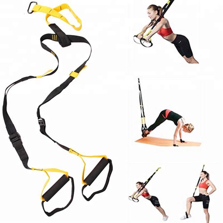 Resistance Bands Sport Gymnastik-Training Fitness Suspension Übung Zugseil Straps Trainer-Gurt für Erwachsene Hanging