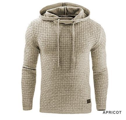 Automne et l'hiver 2019 nouvelle garde-robe européenne et américaine Mens Jacquard sanitaire Sweatshirt à capuche chaud à capuche Sportsweater Manteau Casual