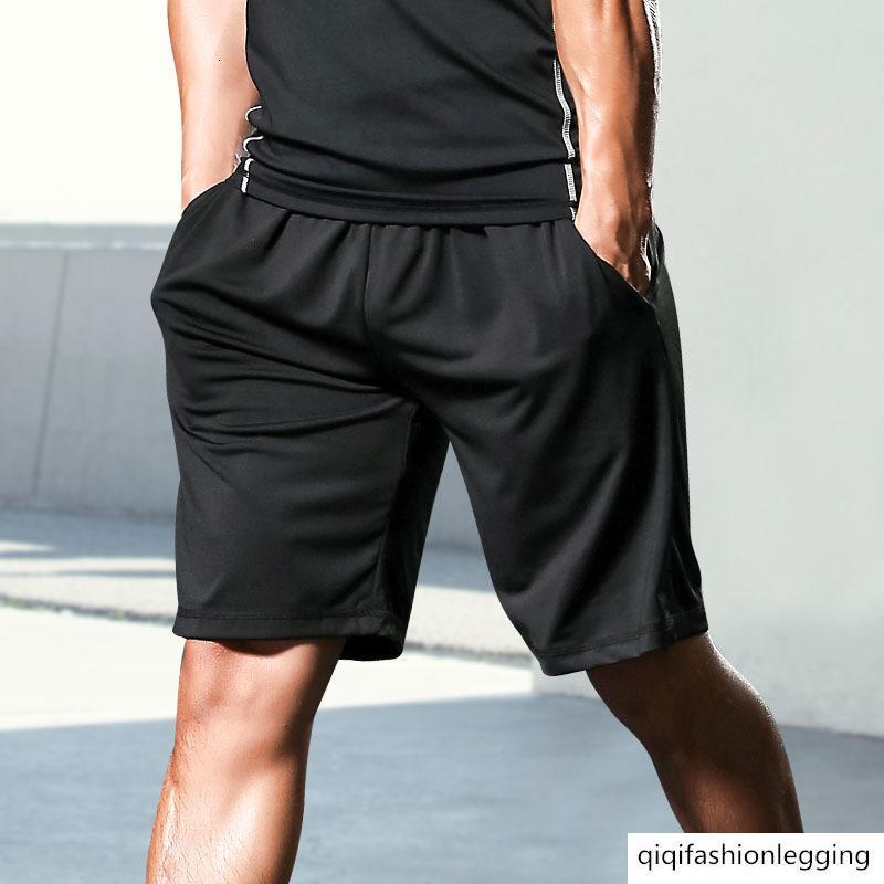 Sport Shorts maschile Estate funzionamento di ginnastica Pantaloni Fitness Pantaloni di pallacanestro di velocità respirabile asciutto Muscle Training Uomo Pantaloni
