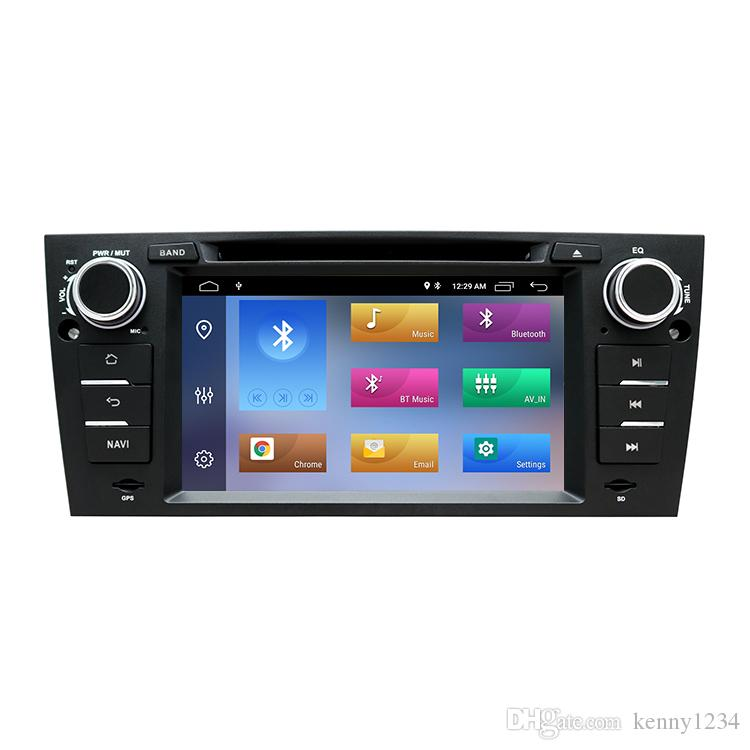 1 Din Car DVD Multimedia Player GPS Android 9.0 DSP For BMW/320/328/3 Series E90/E91/E92/E93 DVD Player Radio Stereo 2+16GB