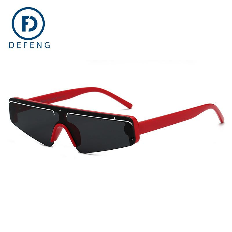 ALOZ MICC New Lady Cat Eye Солнцезащитные очки Женщины +2018 Марка Дизайнер Личность Semi-Rimless Солнцезащитные очки для мужчин UV400 очки A628