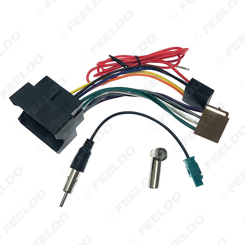 2020 FEELDO Car Stereo Audio ISO Wiring Harness Cable For Peugeot 207 307  307CC 407 For Citroen C2 C5 Radio Antenna Wire Adapter #6473 From Feeldo,  $6.1 | DHgate.ComDHgate.com