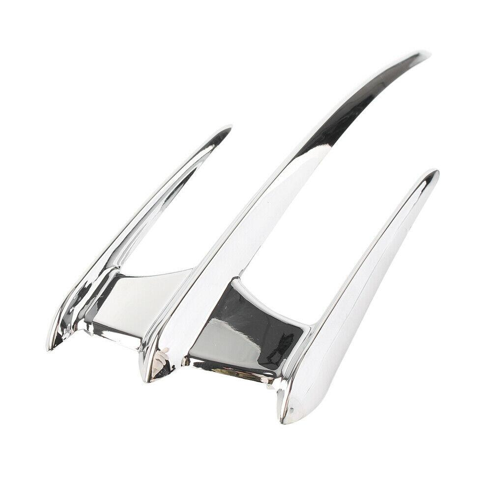 Chrome Front Fender Accent Trim For Goldwing GL1800 F6B VTX1300 VTX1800