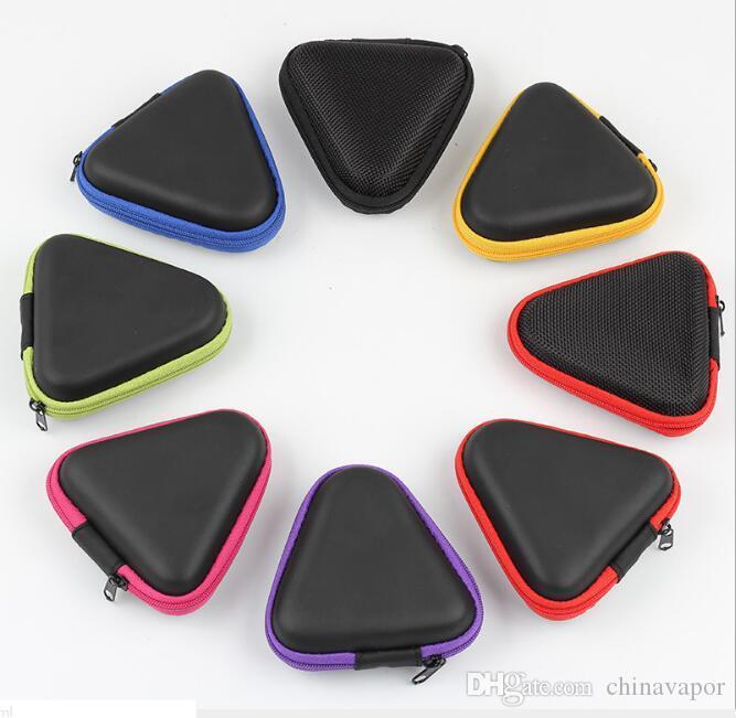 New Earphone Headphone SD Card Zipper Box Carrying Pouch Mini Storage Bag Holder