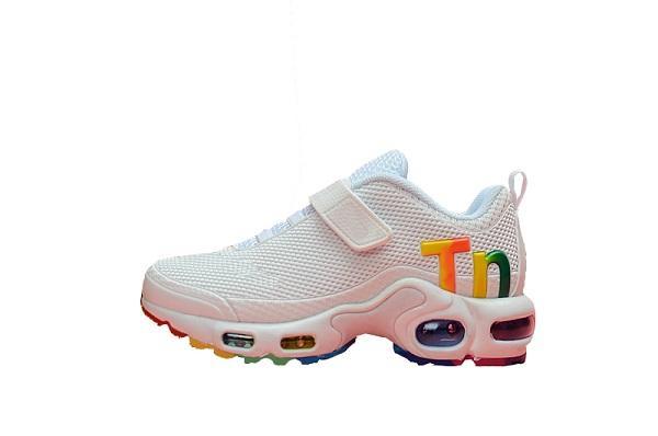 Acheter Nike Mercurial Air Max Plus Tn 2019 Hot Infant Enfants Tn Running Chaussures Air Gris Blanc Noir Enfants Sport Chaussures Enfant Toddler Maxes