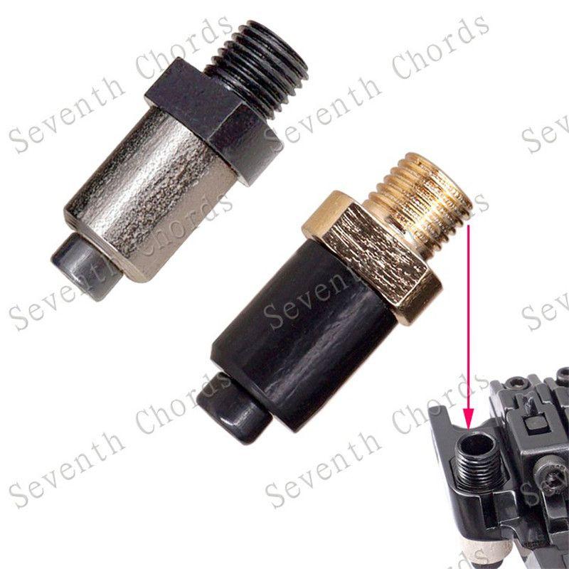 accessori 1pcs del doppio di stile Locking Systyem ponticello del Tremolo Tremolo Arm Socket Whammy Bar Jack per la chitarra elettrica parti