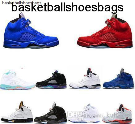 Basketball Sneakers Shoes Big 5 5s Boy
