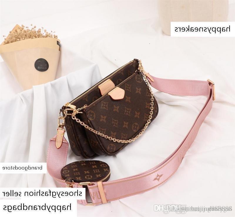 Tasarımcı handbags'in çantalar Üç parça Suit ÇOK Pochette ACCESSOIRES Omuz Çantaları