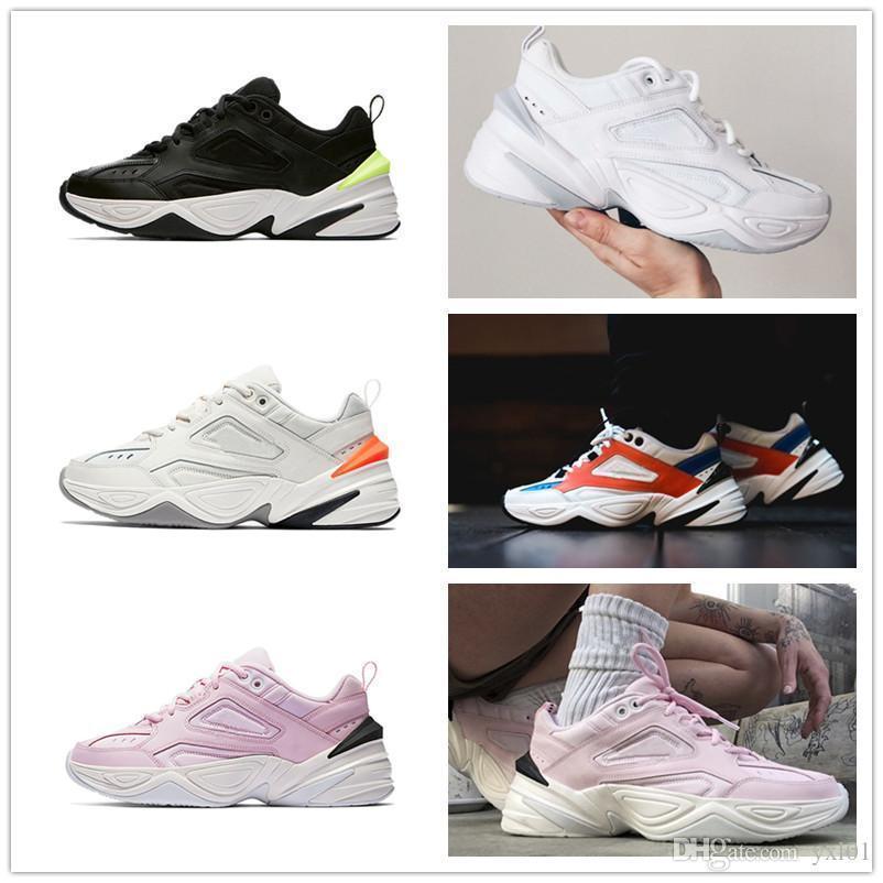 Yeni M2K Tekno Baba Spor Koşu Ayakkabıları için En kaliteli Kadın Erkek Moda Tasarımcısı Zapatillas Eğitmenler Tasarımcı Sneakers 36-46