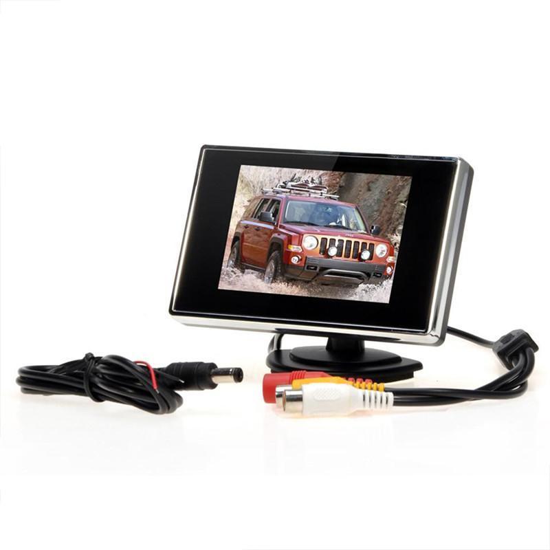 3,5-дюймовый 480 * 272 TFT LCD Автомобильный монитор Дисплей камеры заднего вида автомобиля Assist резервного копирования обратный экран DVD