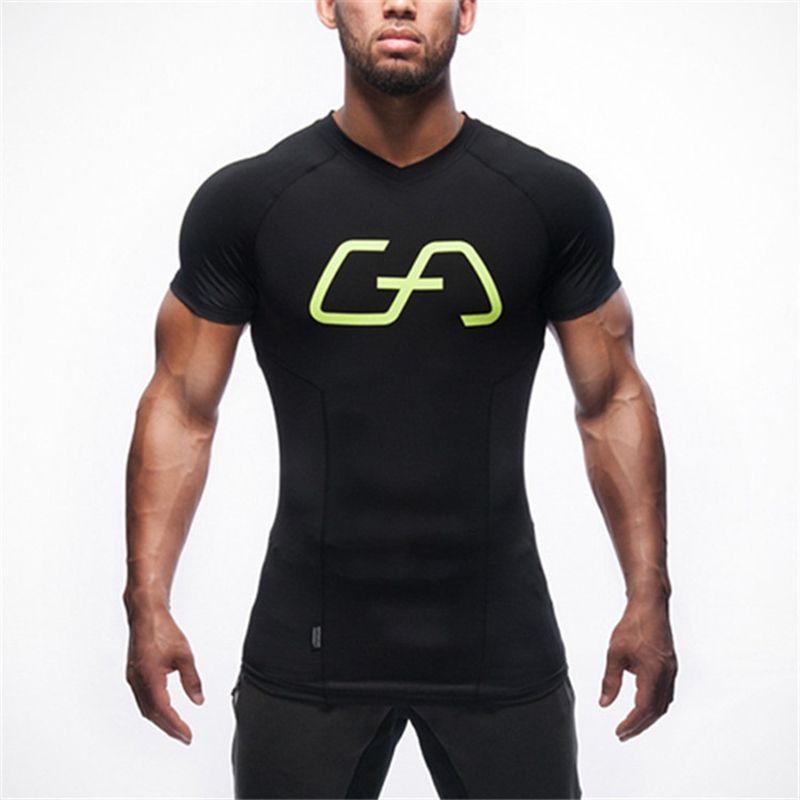 2019 nuovo Mens Stylist T shirt maniche corte casuale di modo Tees alta qualità Sport Fitness manica corta Tees
