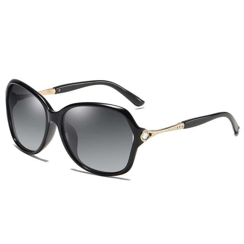 Spedizione Donne Designer Polarized Sunglasses Polarized Fashion Brand Frame Cornice da sole Occhiali da sole Occhiali da sole Occhiali da sole Big Lady Driving Polarized High-End MDHB
