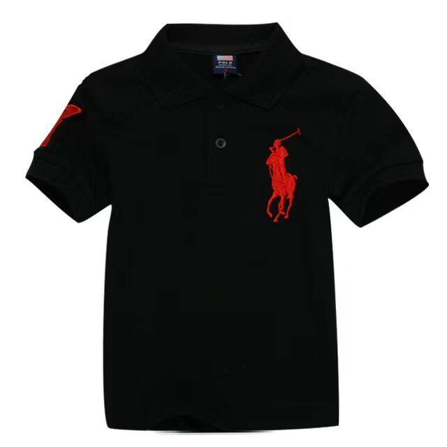 Novos 2020 crianças camisetas menino atacado lazer menina curta polo manga crianças t-shirt crianças t camisas