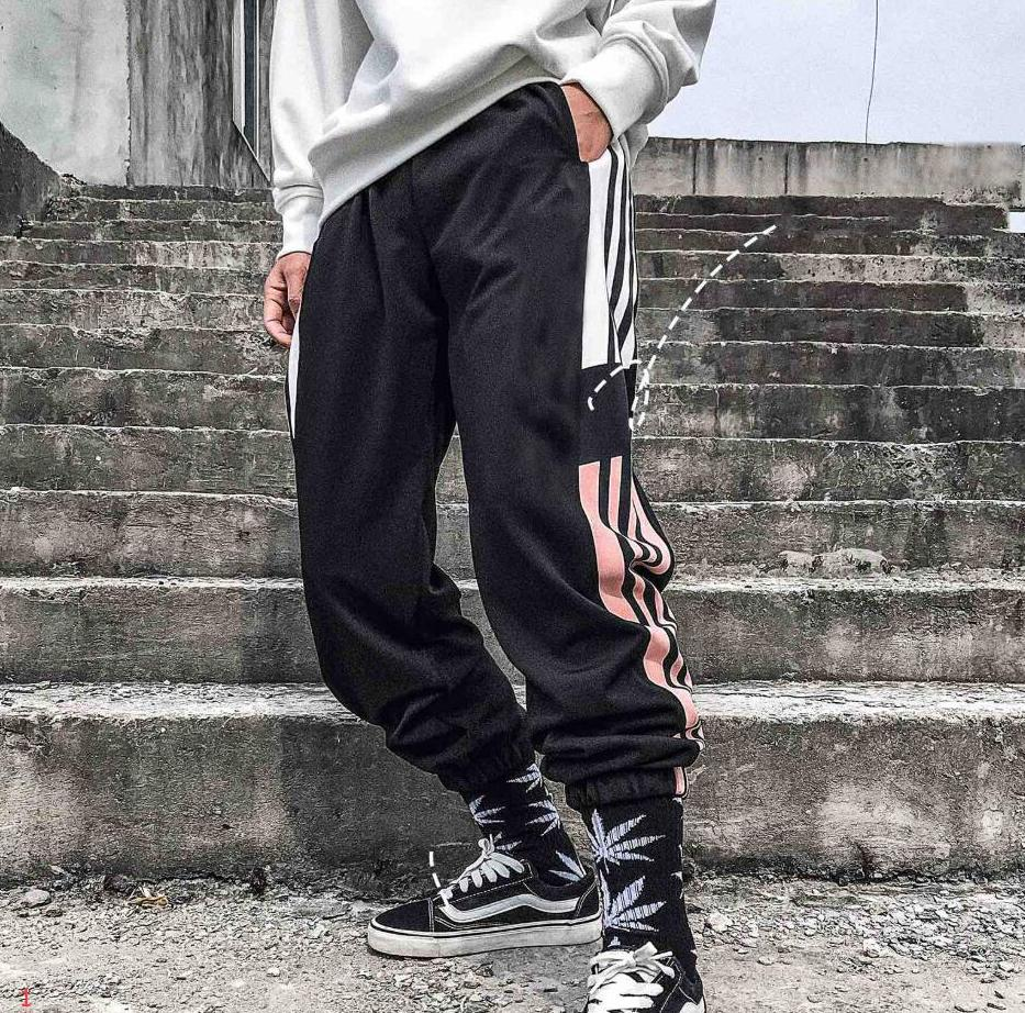 2020 Tasarımcı Erkekler Pantolon Marka Tek Renk Sevimli Moda Sıcak Satış Spor Jogger Pantolon 2019 Yeni Geliş Erkek Marka Spor Aktif Erkekler Kadınlar Pantolon
