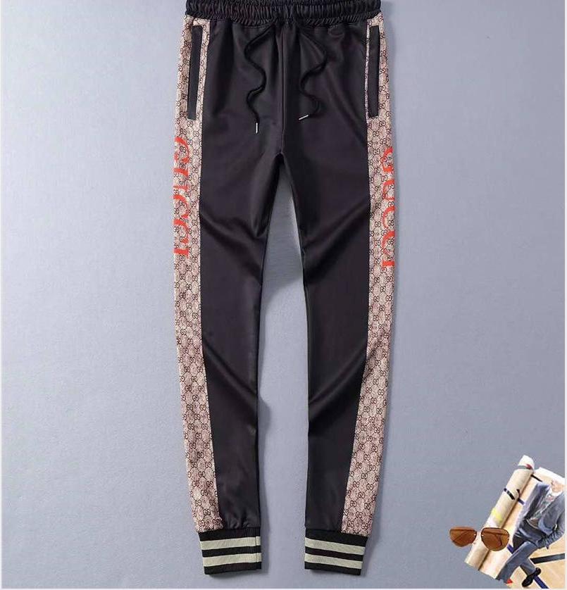 2020 Pantaloni design di lusso da uomo con lettera stampata con coulisse Pantaloni Sport jogging Trouse Sweatpants Asiatica Misura M-3XL