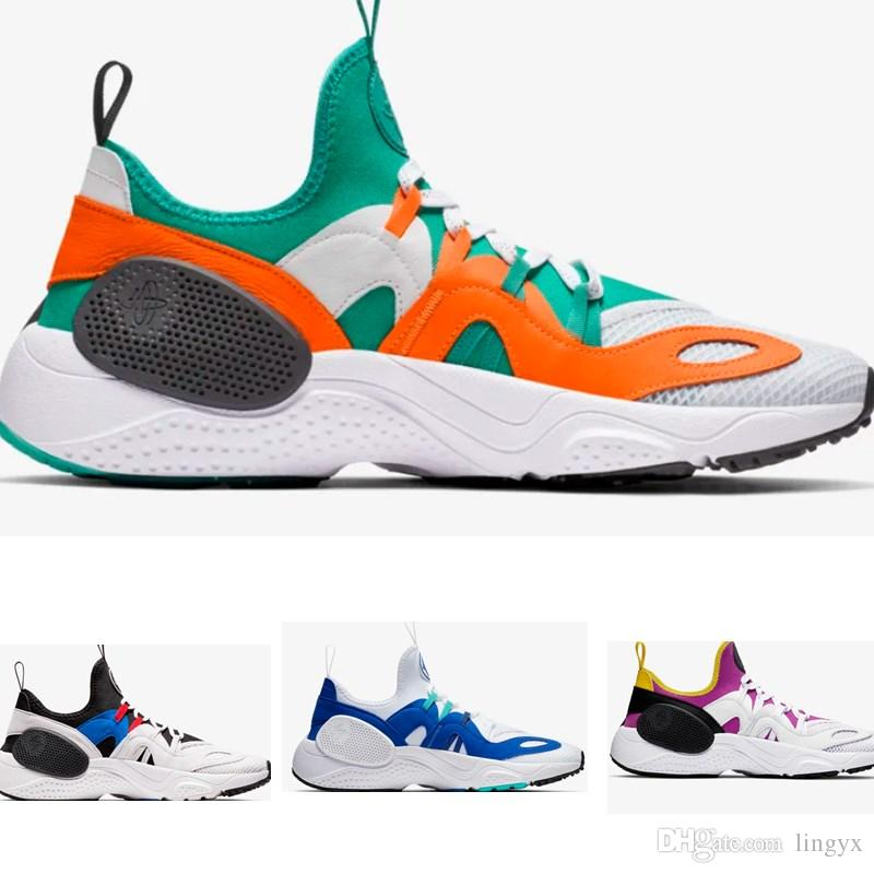 Blue Orange Huaraches Running Shoes 7s