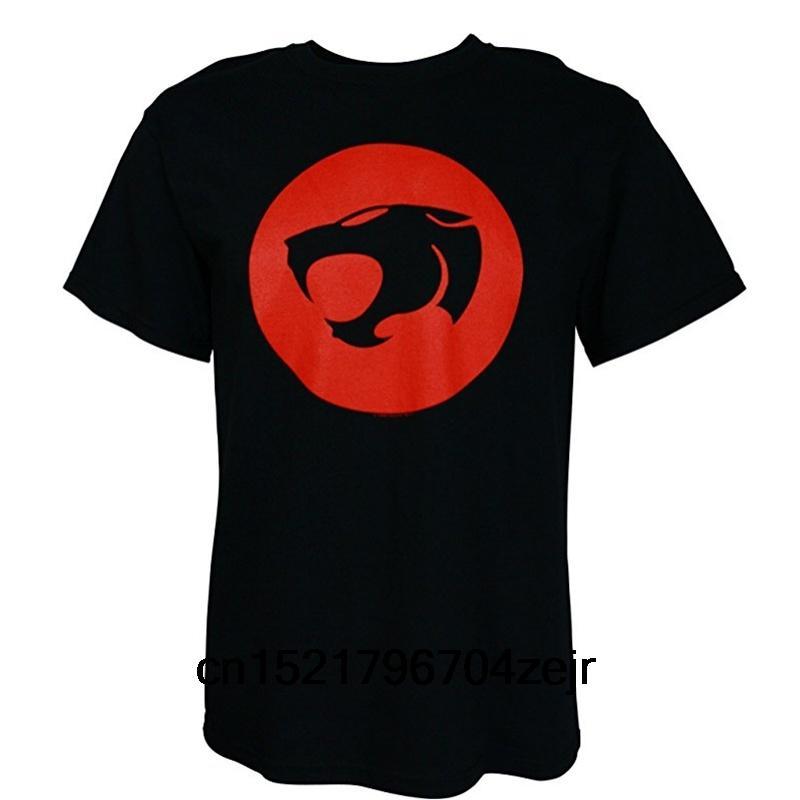 shirt Homens T clássico Thunder Cats pescoço casuais rodada Preto Tamanho S-XXXL tshirt engraçado mulheres novidade tshirt
