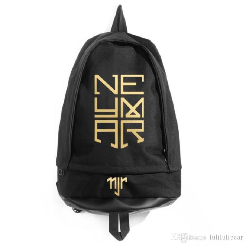 جديد وصول نيمار jr قماش ظهره الرجال النساء السفر قدرة كبيرة حقيبة عالية الجودة حقيبة مدرسية للطلاب القدم الكرة rucksack