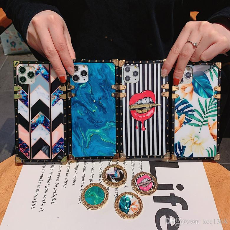 فاخرة باريس catwalk designer phone case for iphone 11 Pro Max 7 8 XS XR xs max Galaxy S10 S20 Note 10 9 phone Softcase