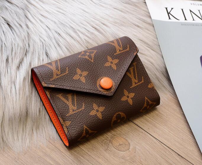 estilo clásico de múltiples accesorios de moda para hombres y mujeres diseñadores carpeta del embrague de la carpeta de cuero bolsa de presbicia monedero empalme Clave