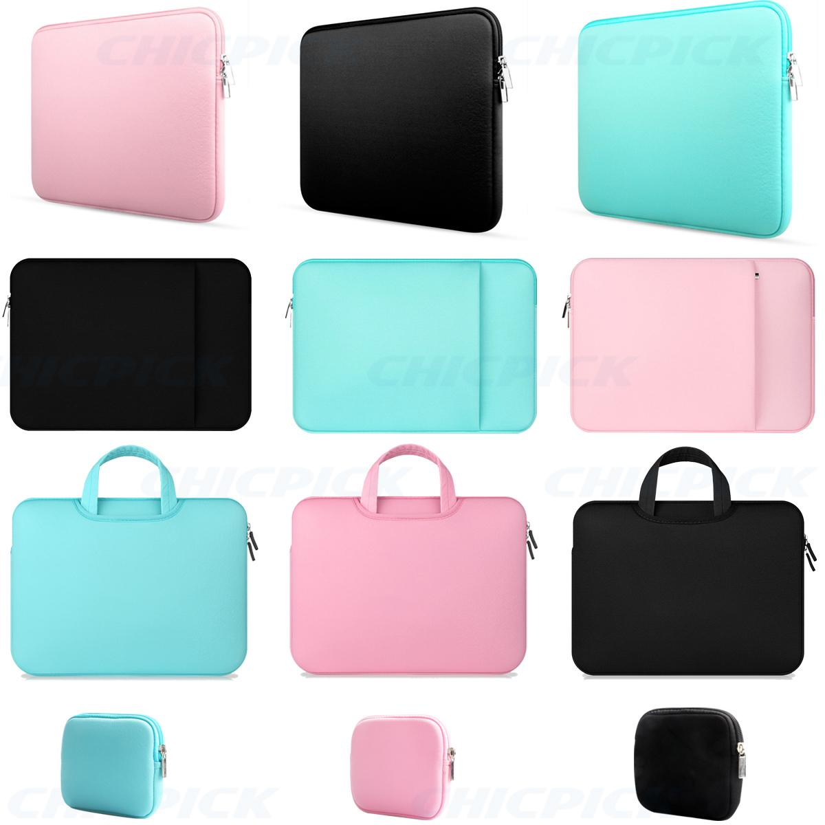 "11"" 12 ""13"" Macbook Mac Hava / Pro / Retina Dell Samsung için Notebook El Çantası Kol Çantası"