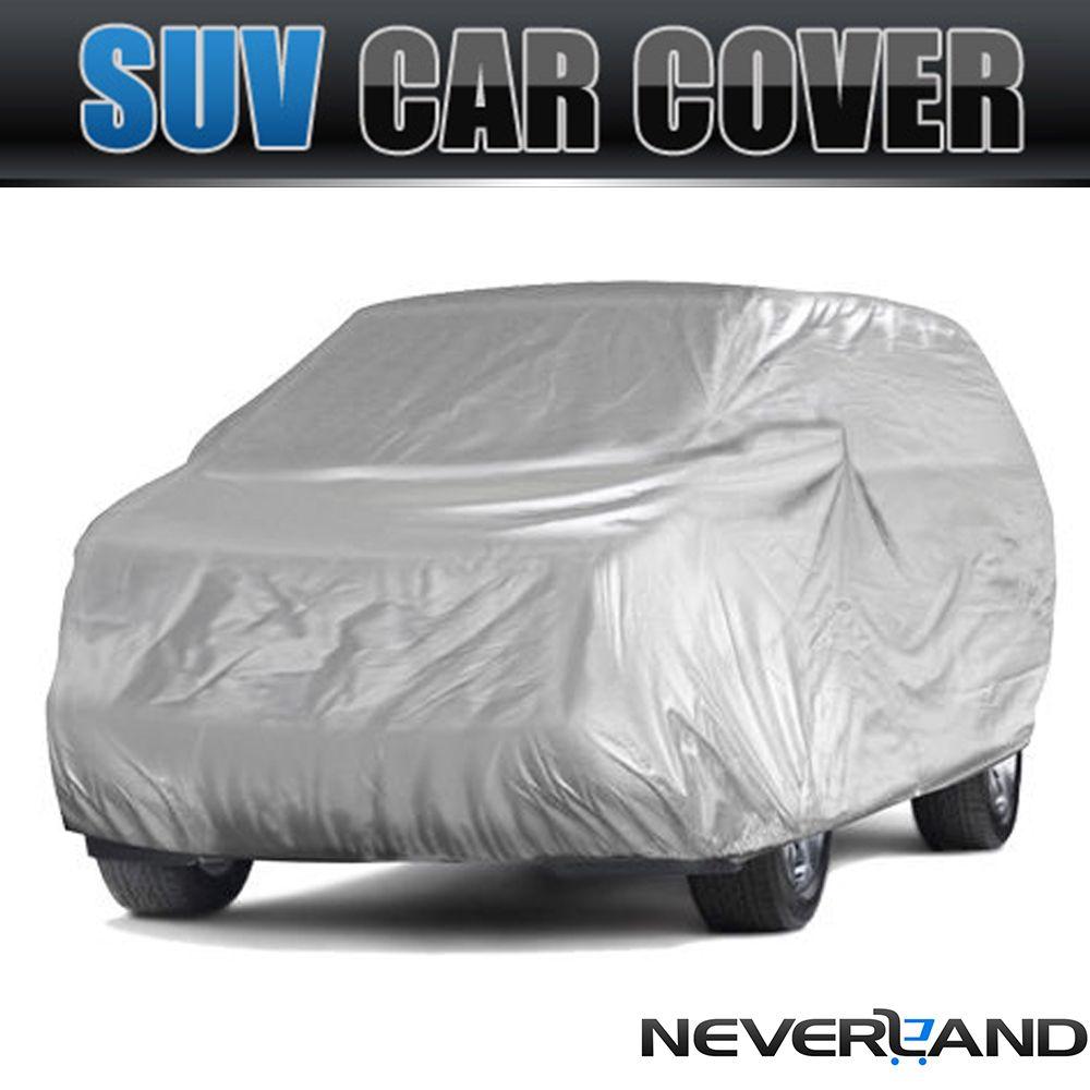 SUV Otomobil Araba Kapak UV Güneş Toz geçirmezlik Dayanıklı Tam Otomobil Coat M L XL D49 Kapaklar