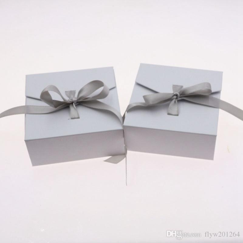 절묘한 bowknot 보석 디스플레이 및 포장 상자 반지 상자, 세련된 귀걸이 보석 상자의 새로운